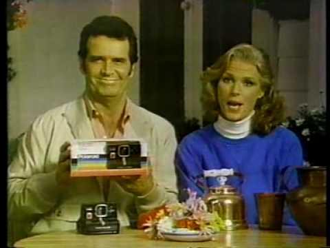 James Garner for Polaroid 1981 - YouTube