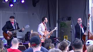 Manny Jr and The Cyclones, Quebec City Canada Rockabilly band play ...