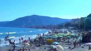 Bella spiaggia ad Alassio (Riviera dei fiori) - Beautiful Beach in Alassio Italy