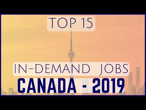 🇨🇦 Top 15 In-Demand Jobs In Canada - 2019