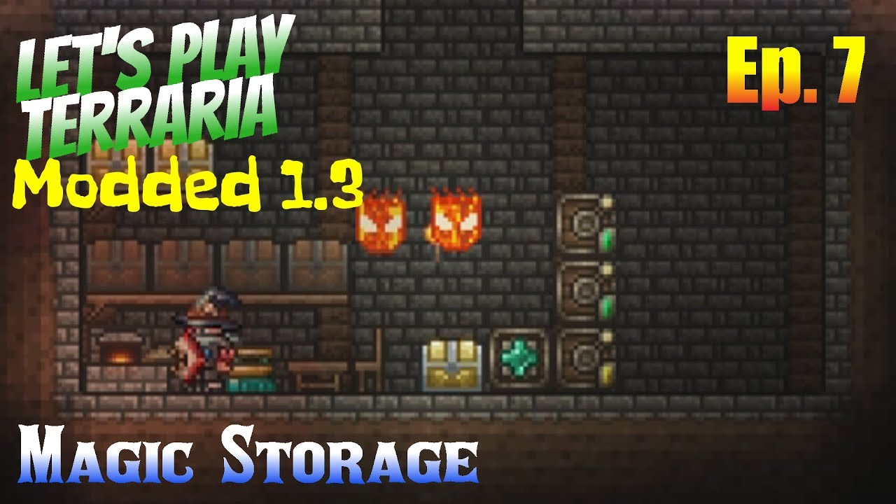 Terraria Storage Room - Ronniebrownlifesystems