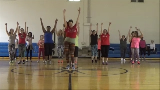 A Lo Loco / Celia Cruz Salsa (Samba) Dance Fitness routine by Jilly Zumba