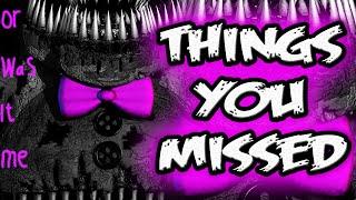 FNAF 4 Nightmare FREDBEAR   THINGS YOU MISSED in Five Nights at Freddy's 4 Nightmare Fredbear Teaser