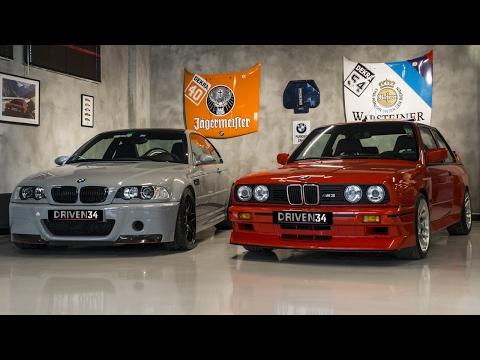 THE MAKİNA | BMW E46 M3 CSL & BMW E30 M3 - DRIVEN34