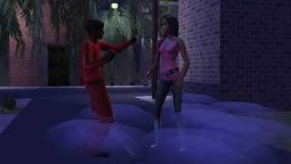 Thriller - Michael Jackson - Sims 2 - Long video version PART 1
