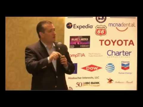 Ted Cruz Addresses Texas Delegation Breakfast FULL 7/21/16
