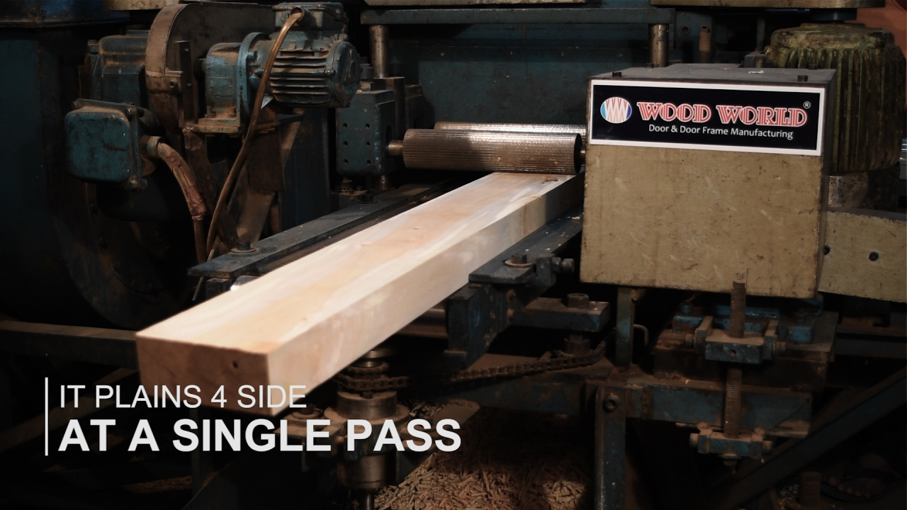 Official Video   Wooden Door And Door Frame Manufacturing Company In  Bangladesh. (Wood World)