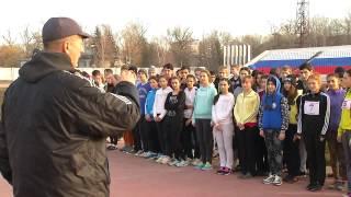 Школьники Черкесска сдают нормативы «ГТО»