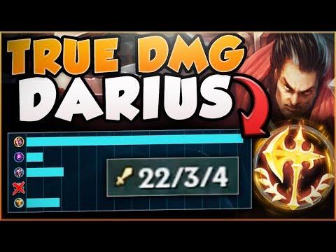 RAGE QUIT? NO PROBLEM! MAX TRUE DAMAGE DARIUS IS TOO OP! DARIUS TOP GAMEPLAY! - League Of Legends
