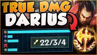 RAGE QUIT? NO PROBLEM! MAX TRUE DAMAGE DARIUS IS TOO OP! DARIUS TOP GAMEPLAY! - League of Legends