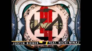 Zedd vs. Justin Bieber Ft. Nicki Minaj - Breakn' A Beat (Electro Ice Cream Mashup) Thumbnail