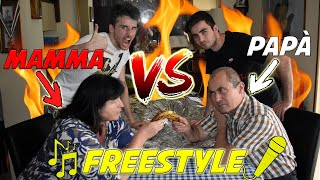 Mamma VS Papà - BATTAGLIA Rap Freestyle!! PIERINO vs GNABRI