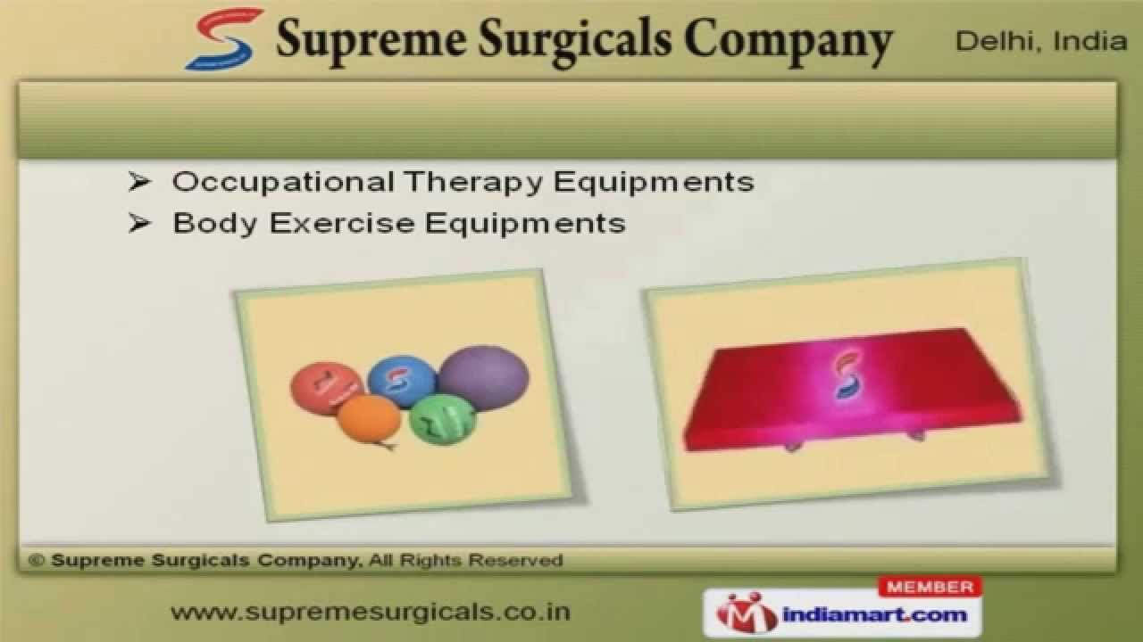 Medical Equipment by Supreme Surgicals Company, New Delhi