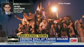 CNN: 'Welcome back Egypt,' activist Wael Ghonim says thumbnail