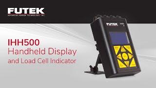 Torque Sensor and Handheld Display Product Demo Video (IHH500)