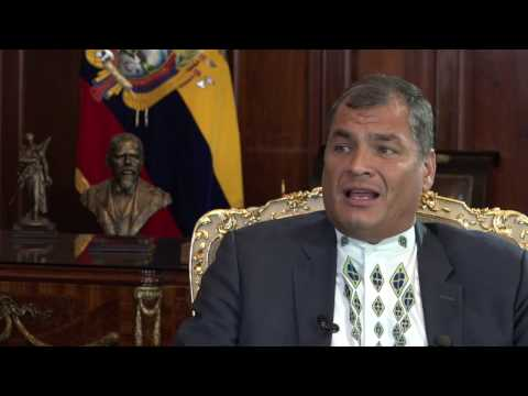 Extended interview with Ecuador's President Rafael Correa