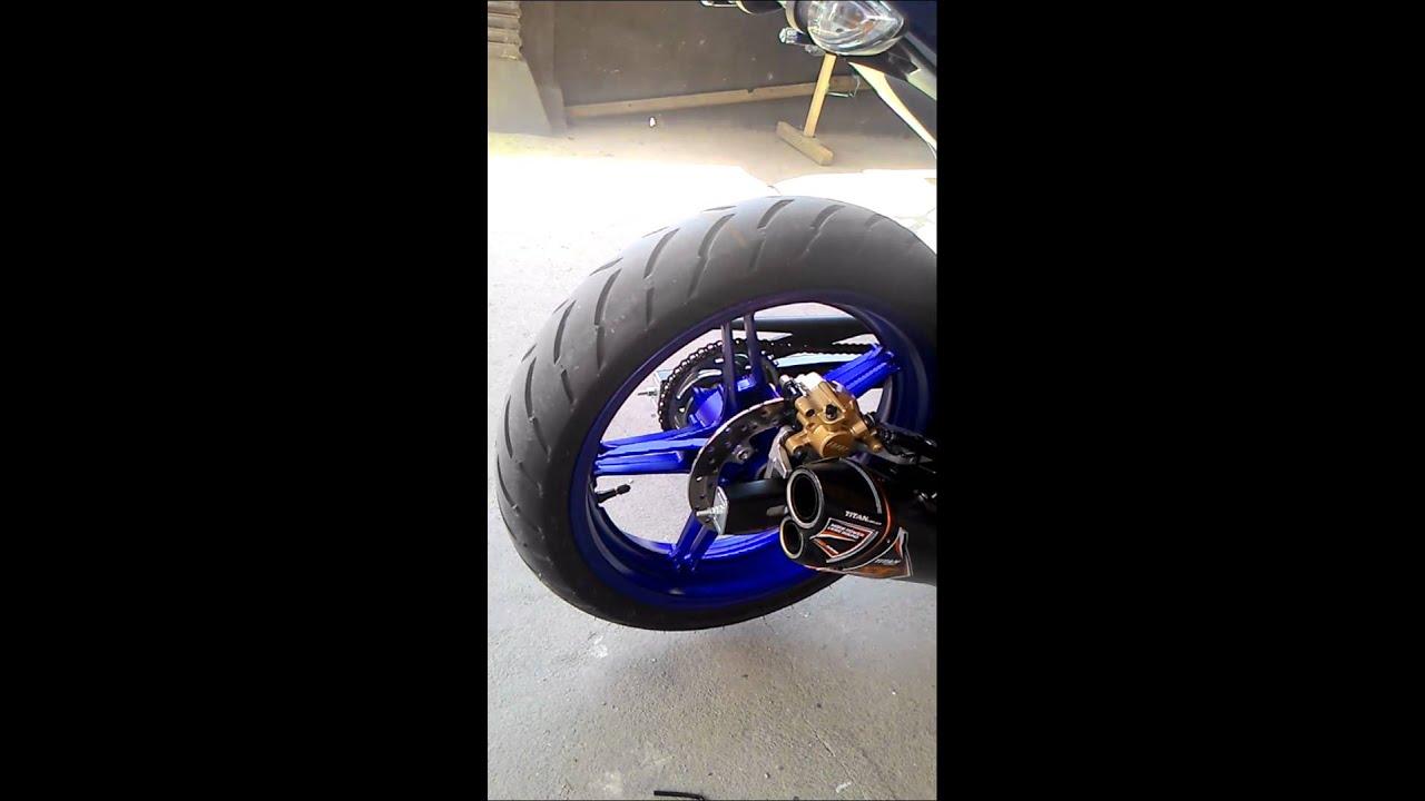 Suara Knalpot Nobi Titan Tanpa Db Killer Prospeed Black Series Yamaha Jupiter Mxking150 Full
