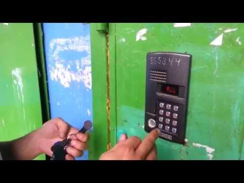 видео: Изменение кода доступа в сервисное меню домофона метаком МК 2003.2