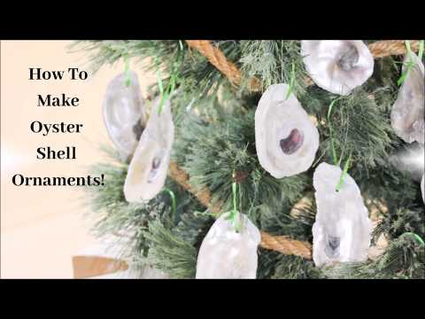How To Create Oyster Shell Ornaments