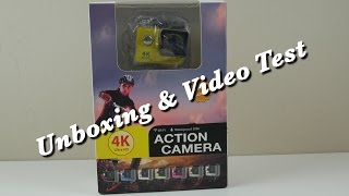 4K Action Cam for Under $80??? (WISH app Purchase Unboxing & Test Footage)