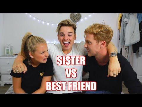 LITTLE SISTER VS BEST FRIEND  ft Anna Maynard & Josh Pieters