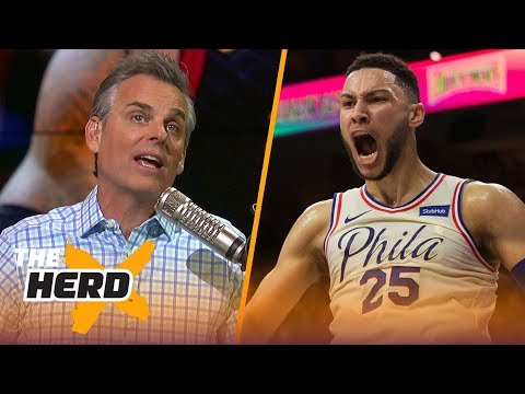 Colin Cowherd reveals why he'd rather watch Ben Simmons than LeBron James   THE HERD