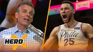 Colin Cowherd reveals why he'd rather watch Ben Simmons than LeBron James | THE HERD