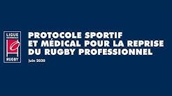 PRO D2 | Les différentes phases du protocole de reprise pour les clubs professionnels de rugby.