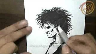 Nyek! Video Blog #55 - How I Draw Sandman