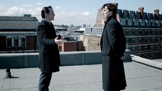 Rooftop Showdown | The Reichenbach Fall | Sherlock