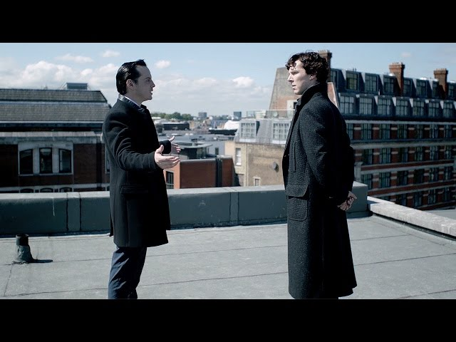 Rooftop Showdown | The Reichenbach Fall | Sherlock