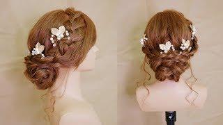 線條感甜美新娘盤髮 Simple and Sweet Bridal Hairstyle