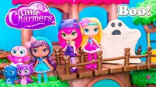 Little Charmers Nickelodeon Little Charmers Spooky Surprise  Hazel Little Charmers Video Parody
