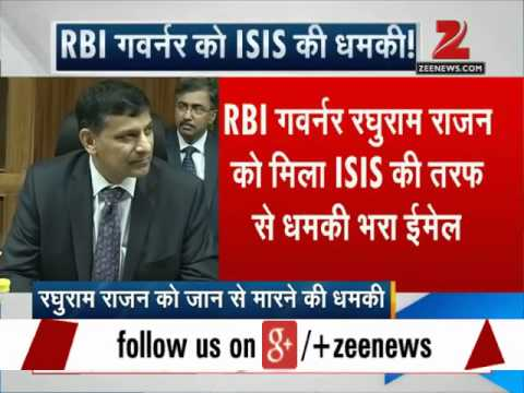 RBI governor Raghuram Rajan gets threat mail from 'ISIS'