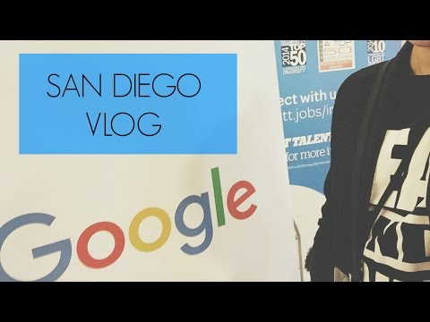 San Diego Vlog: Co-Presenting with Google at CSUN