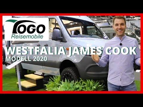 🌴 WESTFALIA JAMES COOK CLASSIC 4x4 Allrad | Modell 2020 | TOGO REISEMOBILE | Mercedes Sprinter