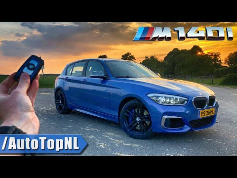 BMW M140i REVIEW POV Test Drive on AUTOBAHN & ROAD by AutoTopNL