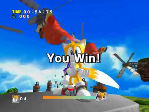[Sonic Adventure DX] How to play as Tails