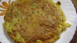 Spanish Omelette  Recipe for bachelors and beginners  Non veg Recipe