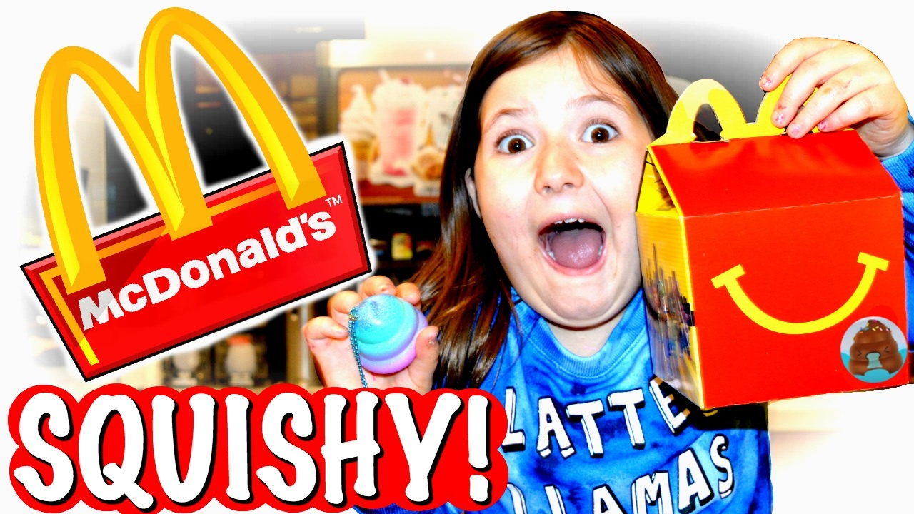 I Got Squishy In A Happy Meal Mcdonnald S Vlog Skit