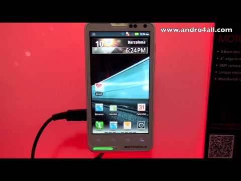 Motorola Motoluxe MWC 2012 [HD]