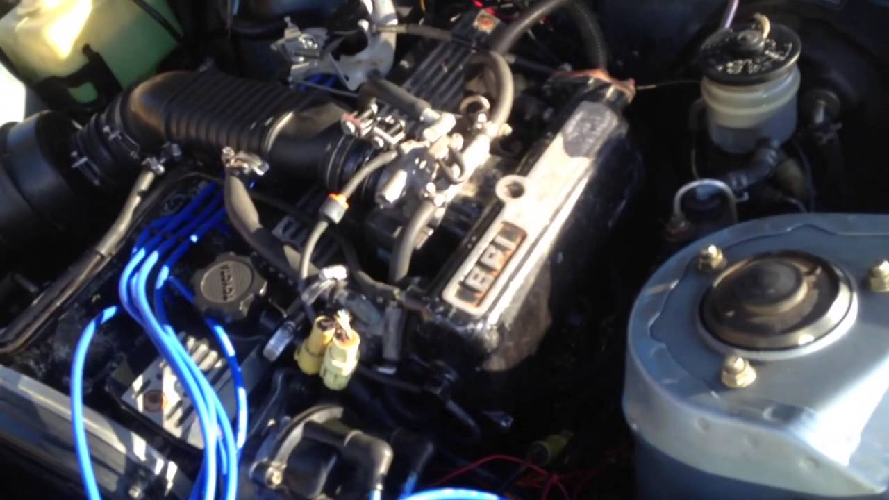 Strait Pipe 1984 5mge In An 1982 Celica Supra Youtube Wiring Diagram Toyota