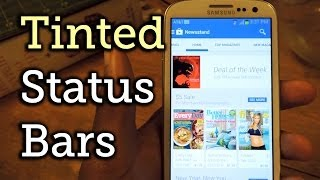 Get an Auto-Tinting Status Bar That Changes with Every App - Samsung Galaxy S3 [How-To]