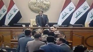 مشادة كلامية حادة في مجلس النواب العراقي بين سليم الجبوري ونائب صدري