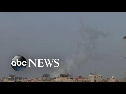 Israel strikes back after Jerusalem rocket attack