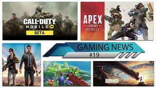 GAMING NEWS #19 Call of Duty Mobile Release Date, Apex Legends Mobile Launch, Pubg Mobile 2