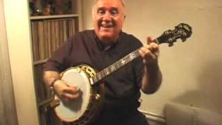"Banjo Music ""That Dada Strain"" Eddy Davis Tenor Banjo"