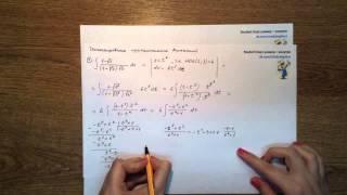 Урок 6 Часть 1 Интегрирование иррациональных выражений