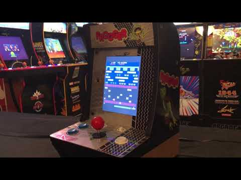 Arcade1Up Frogger Countercade Short Review from Combat and Collecting