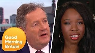 Piers Morgan Argues with 'Campus Carry' Gun Advocate | Good Morning Britain